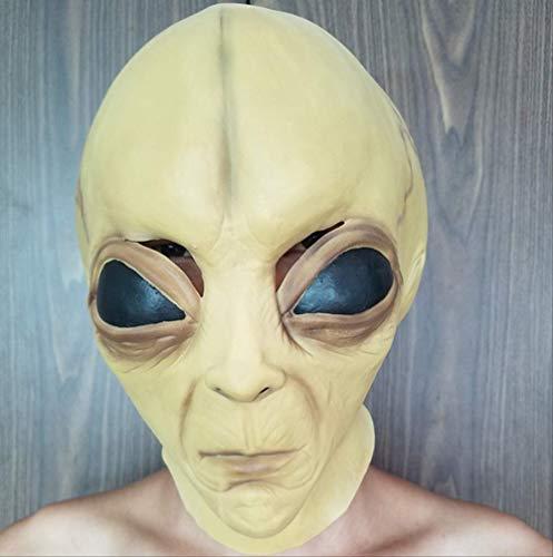 Halloween Latex Masker Alien Masker Cosplay Prestaties Props spookhuis spelen