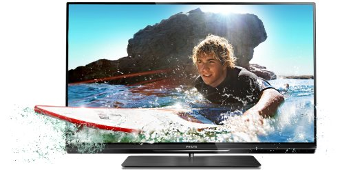 "Philips 42PFL6007H TV LCD 42"" (107 cm) LED HDTV 1080p 400 Hz 3D Smart TV 4 HDMI 3 USB Classe: A 4 paires de lunettes 3D incluses"
