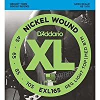 D'Addario EXL165 NICKEL WOUND [並行輸入品]