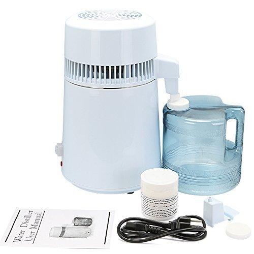 Chaneau Distillateur D'eau 4L Water Distiller 220V 750W Distillateur (Distillateur D'eau)