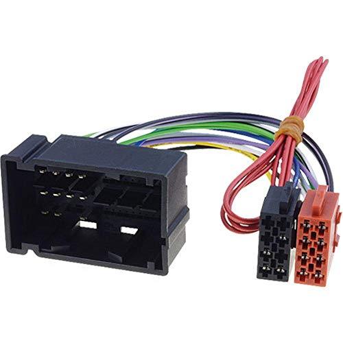 Adaptateur ISO AI67 Autoradio compatible avec Alfa Romeo Fiat Dodge Jeep Lancia