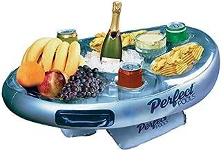 Perfect Pools - Flotante Inflable Spa Pool Bar Caliente Bandeja Lateral Tina para Bebidas bocados del Alimento