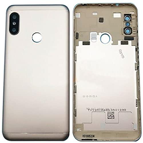 Genérico Tapa de la batería para Xiaomi Mi A2 Lite y Redmi 6 Pro Oro