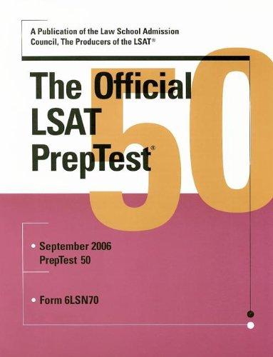 The Official LSAT PrepTest 50