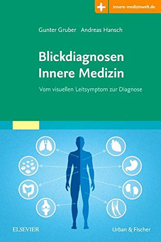 Blickdiagnosen Innere Medizin: Vom visuellen Leitsymptom zur Diagnose - Mit Zugang zur Medizinwelt
