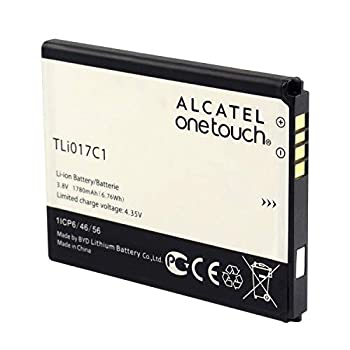 Compatible with Alcatel One Touch OT Genuine Standard Rechargeable Lithium-ion Battery TLi017C1