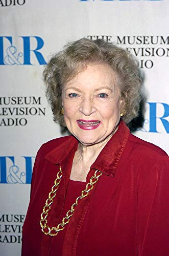 Posterazzi Poster Print Betty White at Arrivals for Boston Legal Panel Discussion DGA Theatre Complex Los Angeles Ca March 15 2005. Photo by Michael GermanaEverett Collection Celebrity (8 x 10)