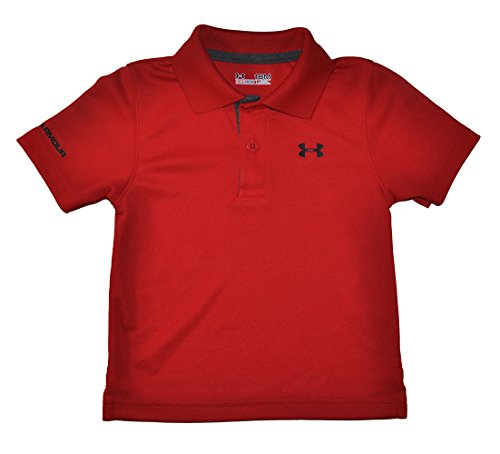 Under Armour Baby Boys' UA Match Polo, Red, 12 Months
