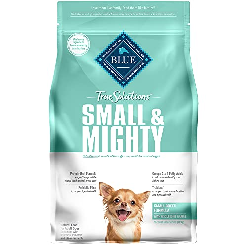 Blue Buffalo True Solutions Small & Mighty Natural Small Breed Adult Dry Dog Food, Chicken 4-lb