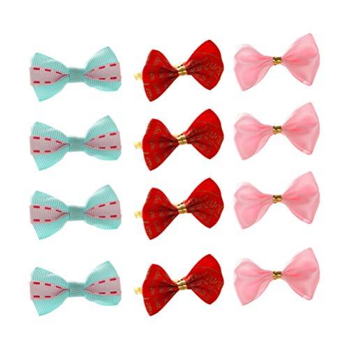 STOBOK 50 stücke metallic Twist Krawatten Folie Twist Krawatten mit Bogen für cellotaschen kuchenbeutel behandeln Taschen Party süßigkeiten Kuchen Cupcake Tasche (mischfarbe)
