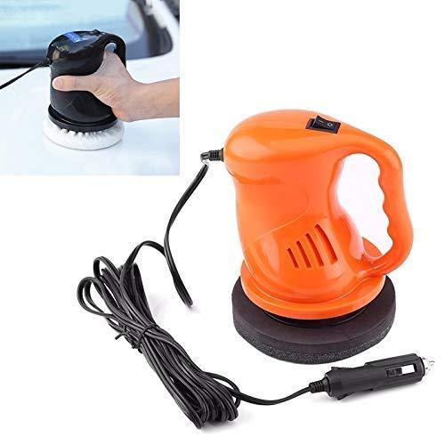 LHQ-HQ Polidor de automóviles eléctrico Pulidor de Pulido Máquina de Pulido Automatización Limpieza de automóviles ABS Accesorios para automóviles, Color: Naranja Durable