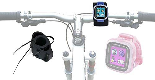 DURAGADGET Kit de Fixation sur Guidon de vélo pour Apple Watch Sport, Ultrasport Navrun GPS Watch Montres connectées - rilsan de Serrage Inclus