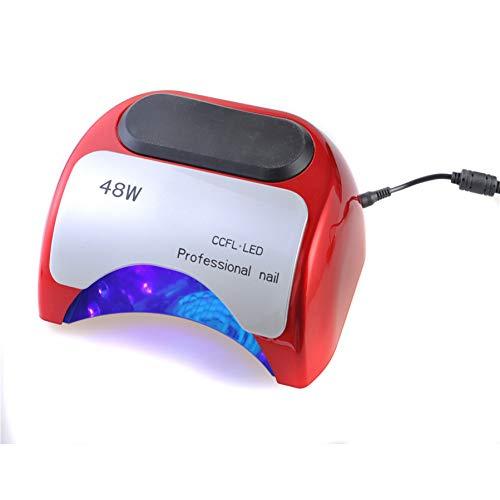 48w Led UV Lamp Voor Nagellak Gel Sneldrogende Uitharding Nagel Gereedschap Met Automatische Hand Sensor EU AU US UK Plug 12W CCFL + 36W LED