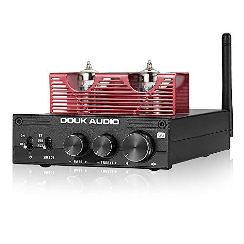 Nobsound HiFi Bluetooth 5.0 Vakuum Röhrenverstärker Stereo Tube Amplifier APTX-LL 160W×2