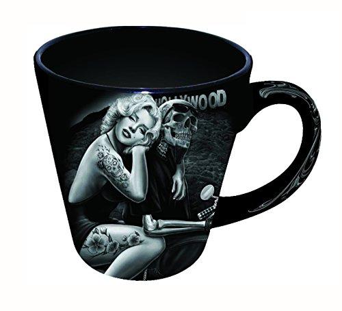 David Gonzales Art Latte - Taza (355 ml), diseño de Hollywood Homegirl