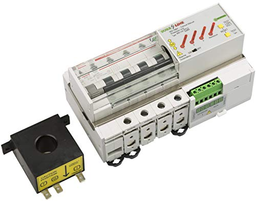 Disyuntor Magnetotérmico Trifásico con protección por sobreintensidad, diferencial y baja tensión, con Rearme Automático LED705 (32A, 5 milisegundos)