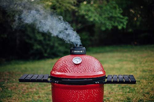 Kamado Joe KJ23RH Classic I Charcoal Grill, 18 inch, Blaze Red