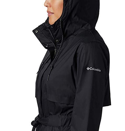 Columbia Womens Pardon My Trench Rain Jacket