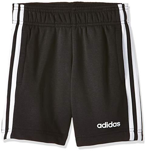 adidas Jungen Shorts Essentials 3-Streifen Knit, Black/White, 116, DV1796