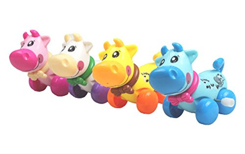 Bovins Animaux Bébé / Enfants Wind-Up Toy (couleur aléatoire) Ensemble de 2