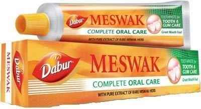 DABUR Herbal 100% Ayurvedic Natural Toothpaste Miswak (200G)