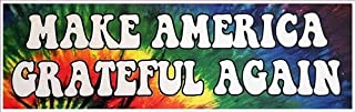 Rainbow Animated Design America Great Bumper Sticker for car,SUV,RV,Boat, Truck,Laptop 9 inches Approximately