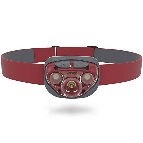 Energizer Rust Red LED Headlamp with Digital Focus Technology