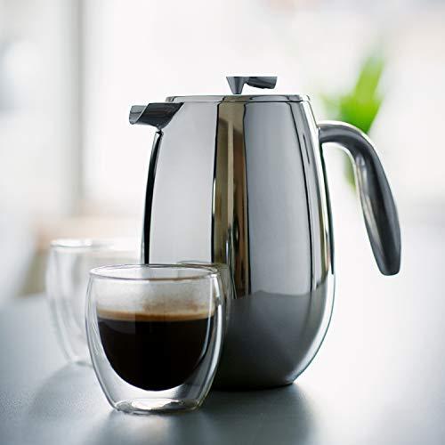 【正規品】BODUMボダムBODUMCOLUMBIAボダムコロンビアダブルウォールフレンチプレスコーヒーメーカー350ml1303-16シルバー