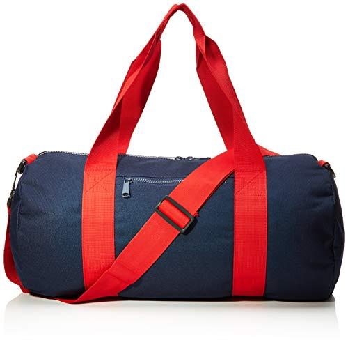 Bag Base BG140FNCR Sac à Main Unisexe, Bleu Marine/Rouge Classique, Taille M