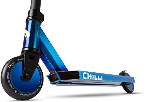 Chilli Pro Scooter Grind Limited DJ Edition Blue neochrome diskwheels