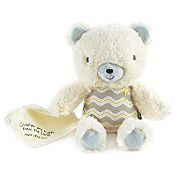 Hallmark Religious Figurine, Stuffed Bear with Blankie