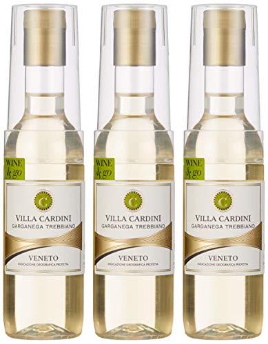 Villa Cardini Garganega Wine & Go in PET Flasche mit Becher (12 x 0.187 l)