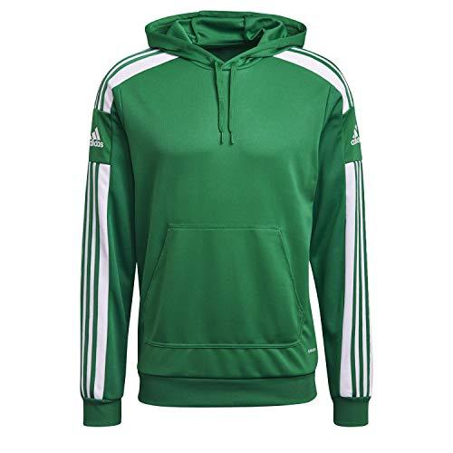 adidas Sq21 Hood Sweatshirt für Herren M Teagrn / Weiß