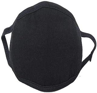 Black mask cotton washable