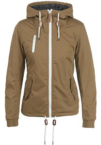DESIRES Tilda Damen Übergangsjacke Jacke gefüttert mit Kapuze, Größe:M, Farbe:Ermine (5944)