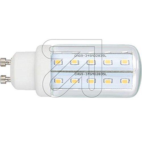 GreenLED Röhrenlampe klar GU10 4W 390lm 3561