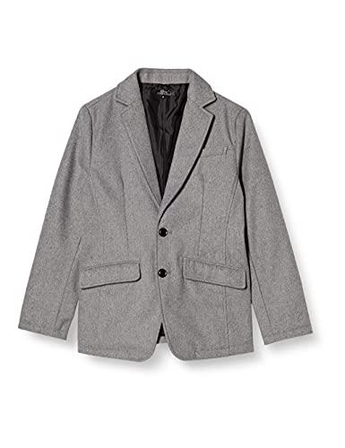 [エムシー] メルトン ウール テーラードジャケット ツイード ジャケット メンズ 9-グレー 日本 M (日本サイ...
