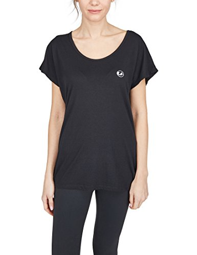 Ultrasport Advanced Maglietta da fitness e yoga da donna Balance, Nero, XS