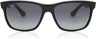 Ray Ban RB4181 Sunglasses-601/71 Black (Gradient Gray Lens)-57mm