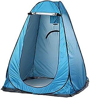 Bärbart campingtält vattentät integritet dusch utomhus toalett skjul UV dressing toalett fågel skådande byta tält med påse...