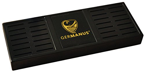 Germanus Premium Humidor humidificador XL Negro Incluye instrucciones de soporte magnético y
