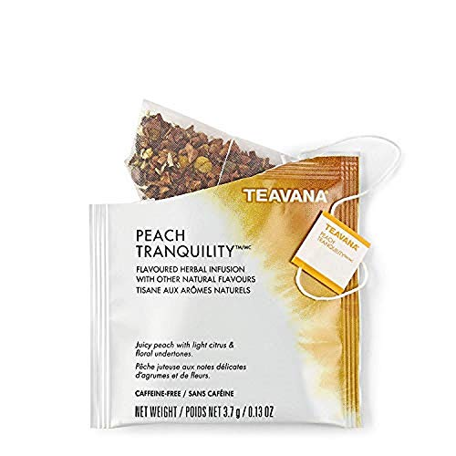 Starbucks Teavana Tea Sachets (Peach Tranquility, Pack of 24 Sachets)