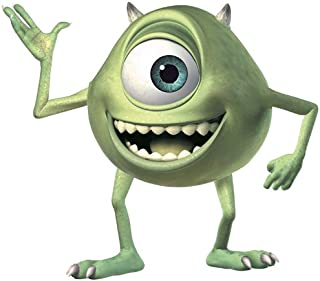 RoomMates Monsters Inc. Mike Wazowski Giant Peel and Stick Wall Decals