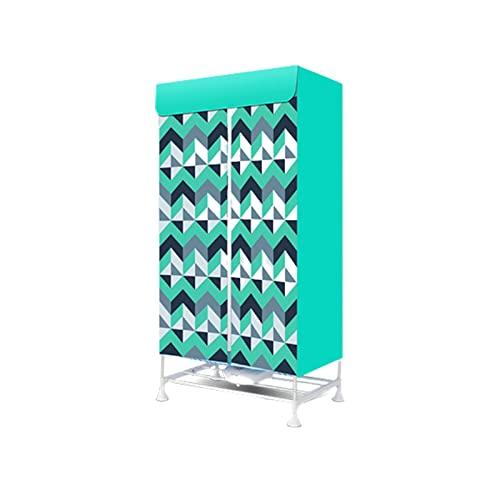 Concise Home New Asciuga Elettrico Portatile 900W grande capacità 10 kg Doppio strato lega di alluminio a risparmio energetico caldo asciugatura all'aria armadio Stendibiancheria Stendino Verticale