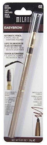 Milani Easy Brow Automatic Pencil, Dark Brown 02 by Milani