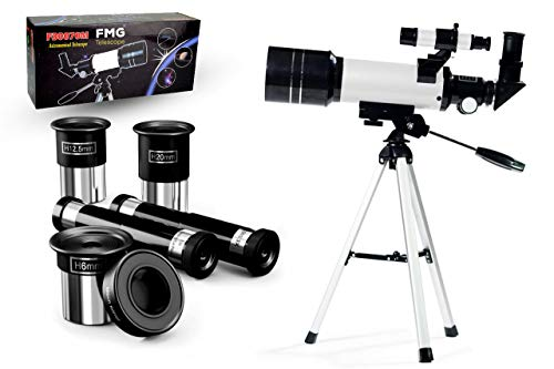 Portable Kids Telescope 400x 70 mm with Tripod review