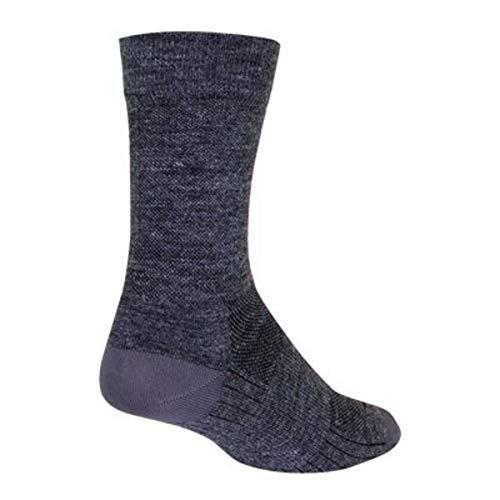 Sockguy SGX Wool, Calzini Unisex-Adulto, Grigio, S/M