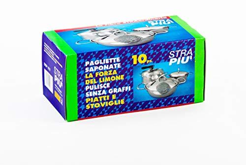 Arcasa DEP627/S sponzen zeep staal, 10 stuks