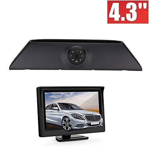 HD auto derde dak Top Mount remlicht camera remlicht achteruitrijcamera voor IVECO Daily 4 Gen 2008-2014 + 4.3