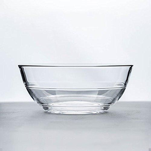 Bowl Tazón de Cristal de Cristal Ensalada de Fruta Tazón de Fuente ...